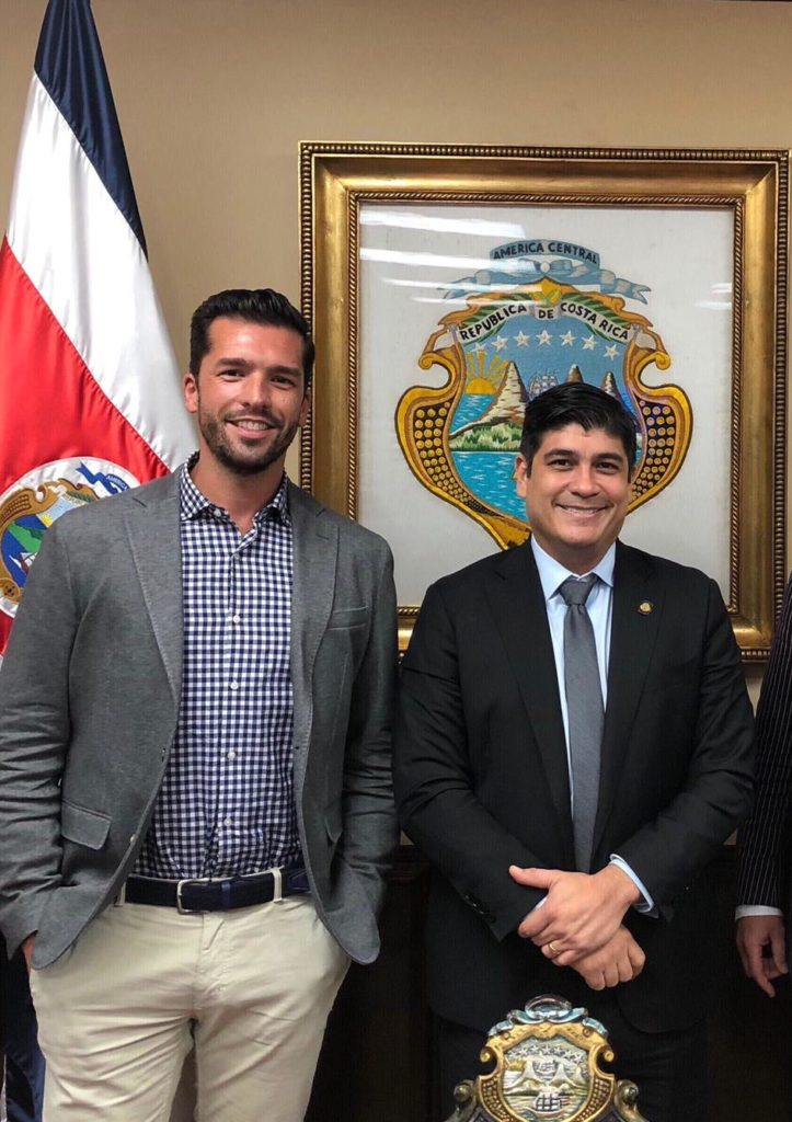 News: Decarbonising Costa Rica, discussions with President Carlos Alvarado Quesada