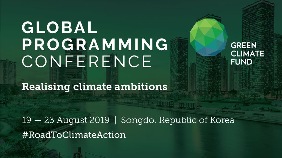 Attending: GCF Global Programming Conference 19-23 August 2019