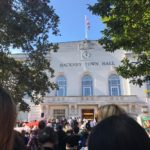 Climate Strike in front of Hackney Town Hall