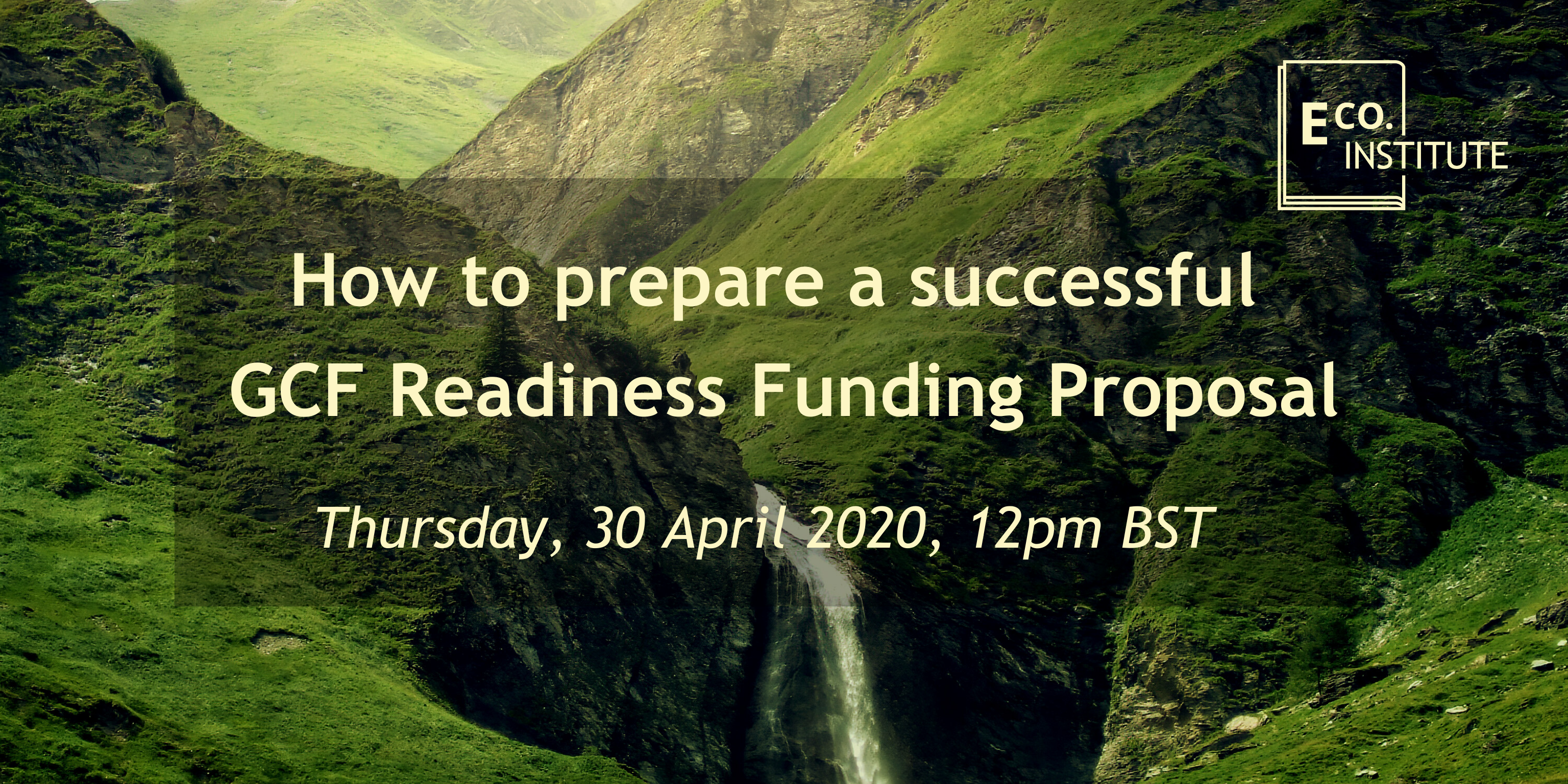 how to prepare a successful gcf readiness funding proposal
