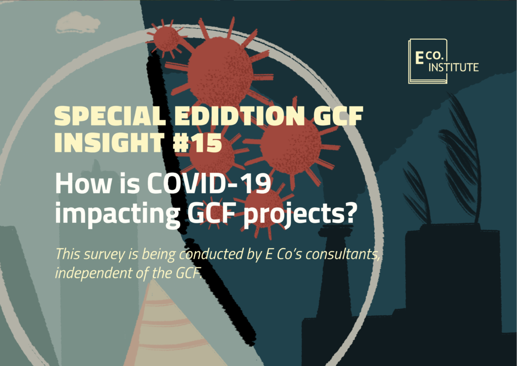 GCF insight #15 – How is COVID-19 impacting GCF projects?