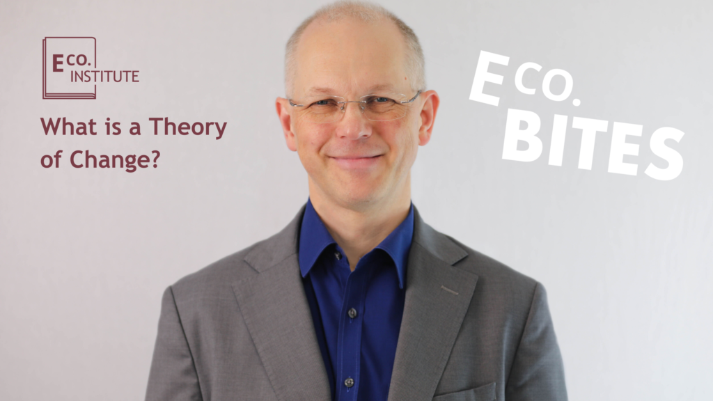 E Co. bites: What is Theory of Change?