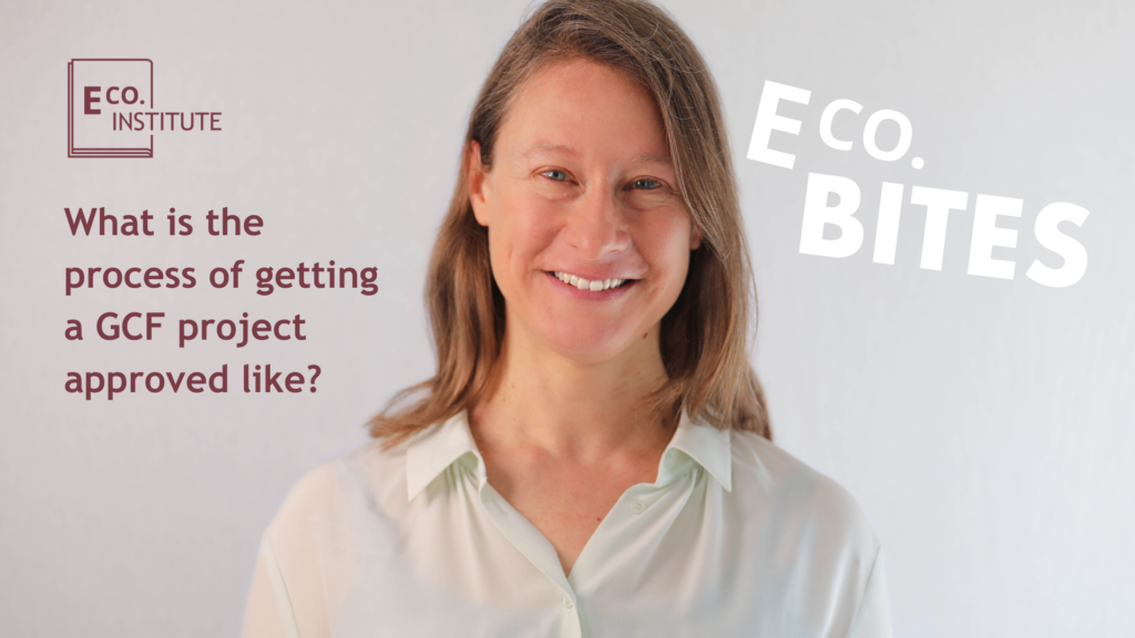 E Co. bites: What is the process of getting a GCF project approved like?