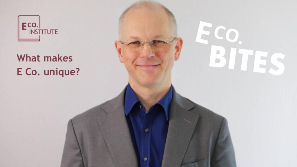 E Co. bites: What makes E Co. unique?