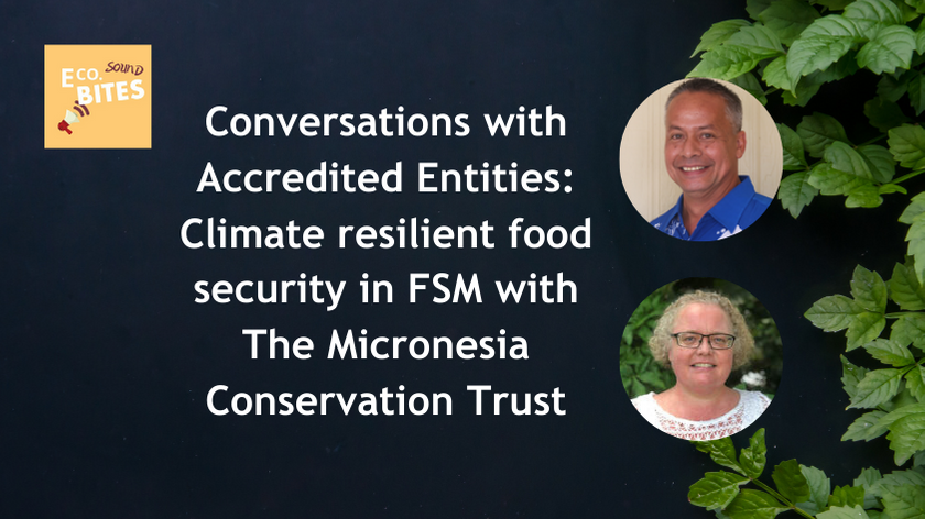 E Co. Sound bites: Climate resilient food security for farming households in the FSM with The Micronesia Conservation Trust – Conversations with AEs