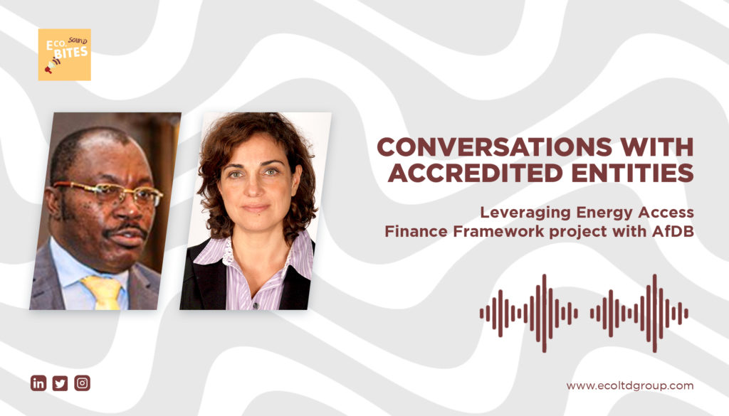 E Co. Sound bites: Conversations with AEs Episode 4 Transcript – African Development Bank